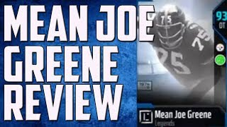HOW GOOD IS MEAN JOE GREENE? MUT 18 PLAYER REVIEW
