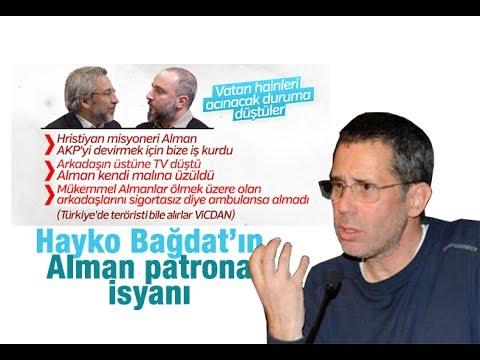 Hakan Albayrak    Hayko Bağdat'ın Alman patrona isyanı