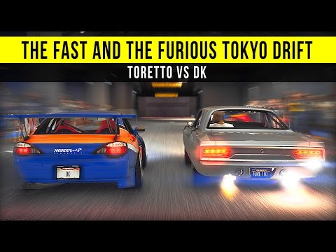 Grand Theft Auto 5 - Tokyo Drift: Toretto VS DK