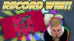 RECORD WIN! Cubes Big win - HUGE WIN on NEW slot from Hacksaw gaming