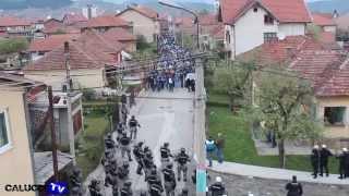 Novi Pazar - crvena zvezda 17.04.2014 Trenuci nakon zavrsetka utakmice