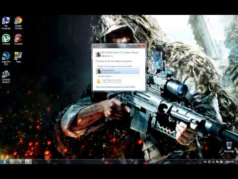 How to install Sniper Ghost Warrior 2-FLT  PC (HD)