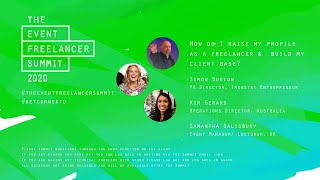 How do I raise my profile as a freelancer   The Event Freelancer Summit 2020