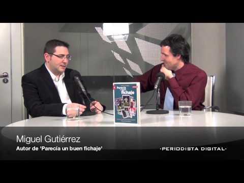 Miguel Gutiérrez. 'Parecía un buen fichaje'. 26-3-2013