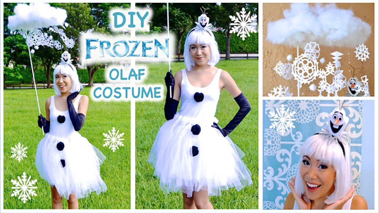 Olaf inspired costume frozen costume cosplay youtube solutioingenieria Images