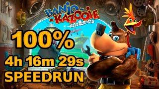 Banjo-Kazooie: Nuts & Bolts 100% Speedrun in 4:16:29