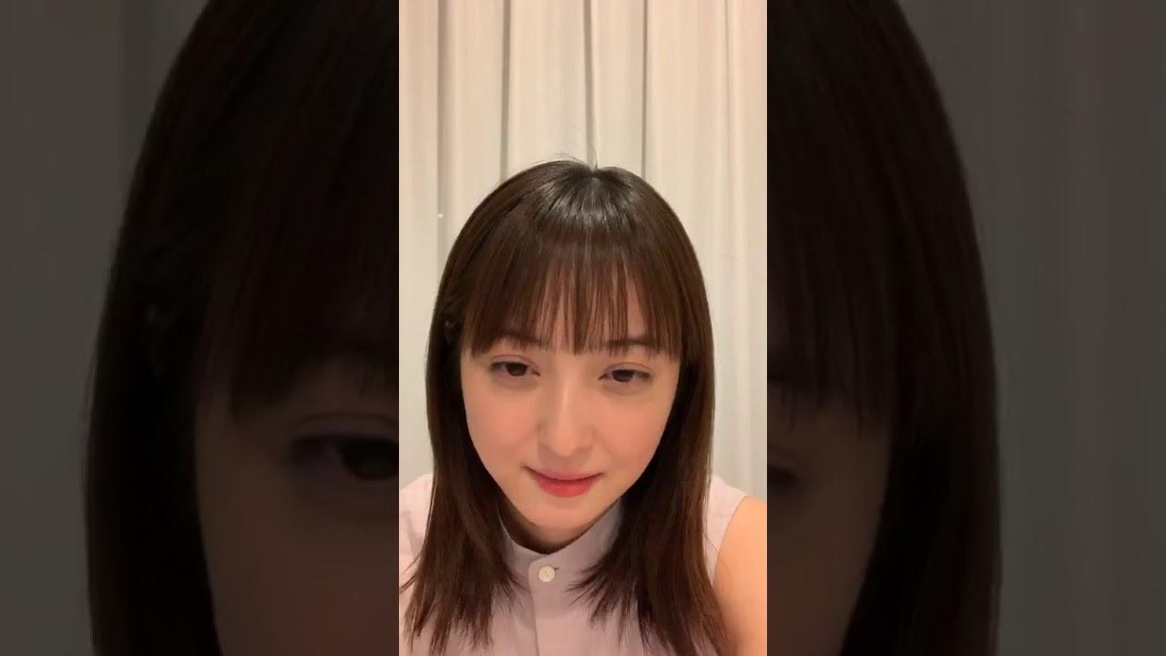 佐々木希 Nozomi Sasaki [Instagram Live] 2020.04.25 Part 1 - YouTube