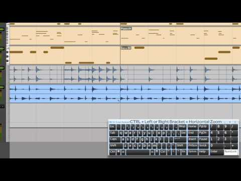Pro Tools® SE - Fixing the timing of an Audio Loop - Win 7 & Mac OS X