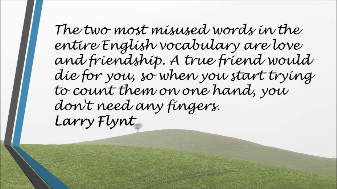 English Quotes About Friendship Quotes About Best Friends  Youtube