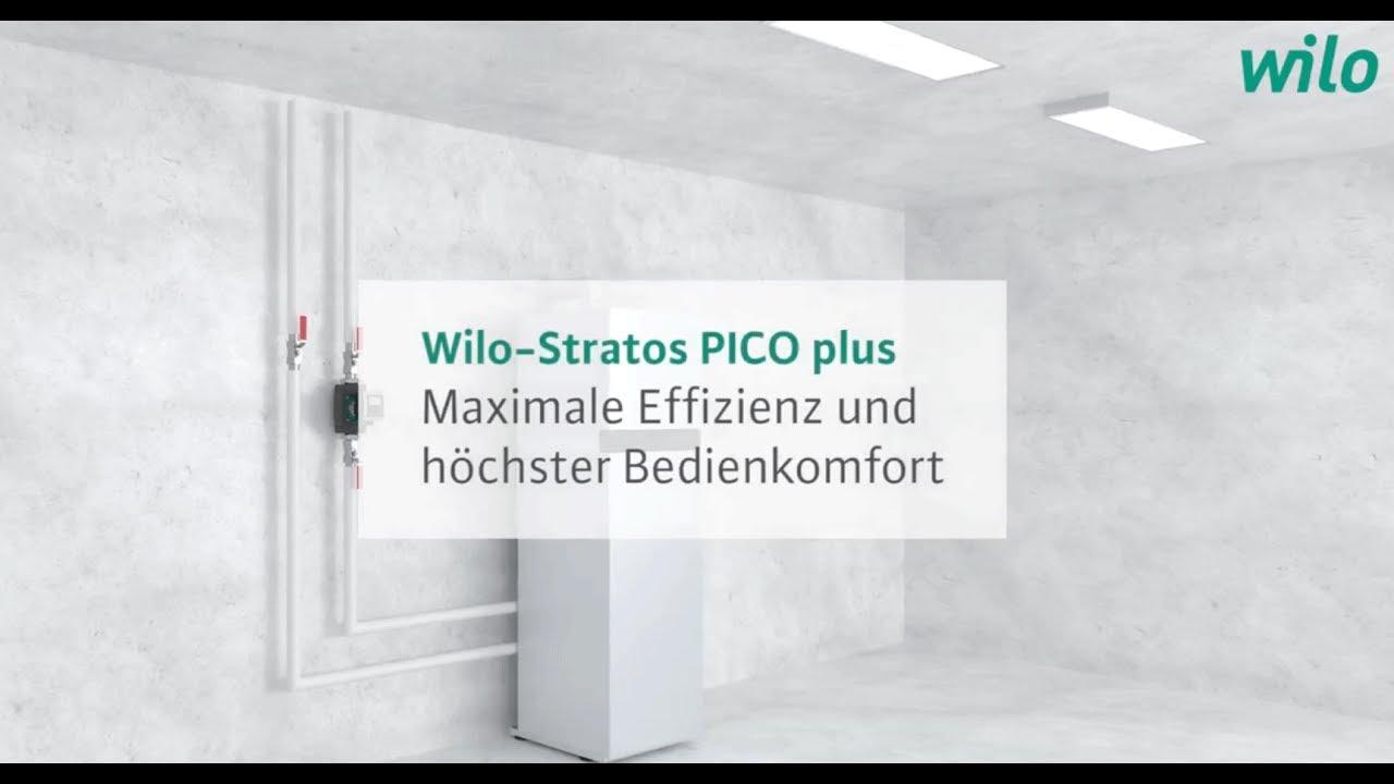 Relativ Wilo Group – Die Wilo-Stratos PICO plus in der Anwendung - YouTube TW74