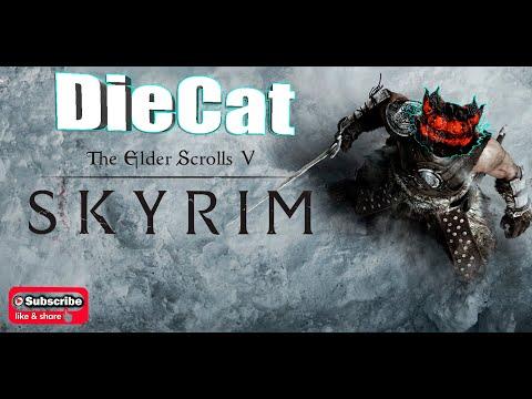Skyrim Special Edition. 01 Начало игры. Каджит