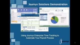 Journyx Time Tracking for Payroll Professionals 9 30 13 1 00 PM