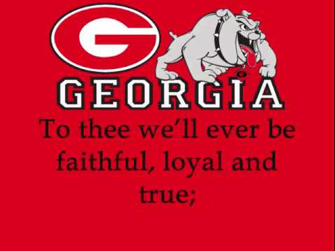 Hail to Georgia (with verse 2)