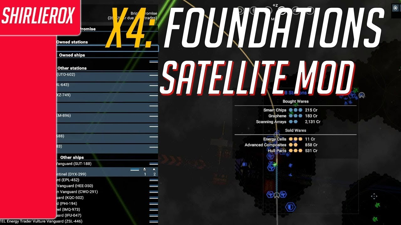 X4 Foundations Karte Deutsch.X4 Foundations Sector Satellites Mod Unlocking The Map X4 Sector Satellites Extension