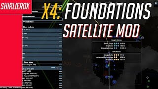 X4 foundations Sector satellites mod - Unlocking the map - X4 Sector satellites extension