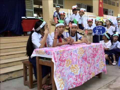 Trường tiểu học thị trấn Cái Tàu Hạ 2 Ngày hội vệ sinh trường học