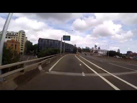 From Leichhardt to Town Hall via Anzac Bridge (Sydney)  Gopro hero 4