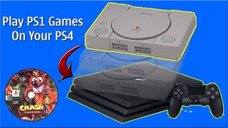The Best Way For Play PS1 Games On PS4 5.05 Modded Via PCSX-R Emulator