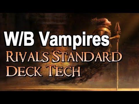 Mtg Deck Tech: W/B Vampires in Rivals of Ixalan Standard!
