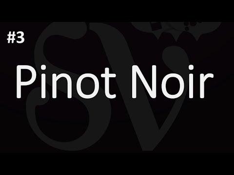 How To Pronounce Pinot Noir - Julien's Wine School