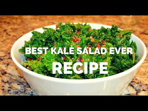 Raw Kale Salad Recipe - Best Kale Salad Ever