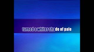Procol Harum - A Whiter Shade of Pale - Karaoke