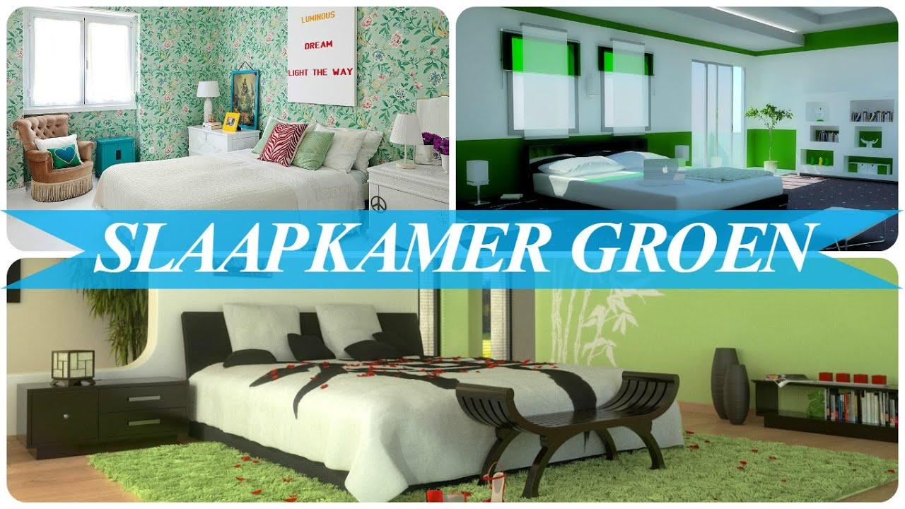 Slaapkamer groen - YouTube
