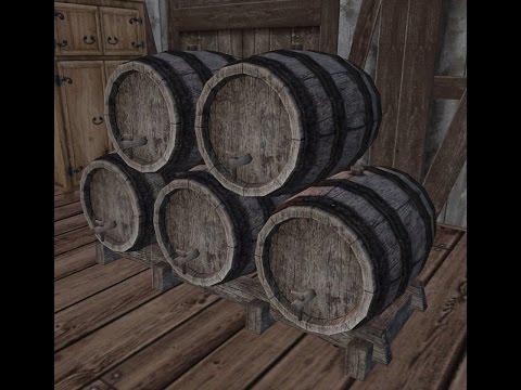 wurm unlimited tutorial episode 143 wine barrel rack