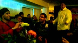 Dholki Dhol session - manchester mumbai nights - indian songs jaane walo zara