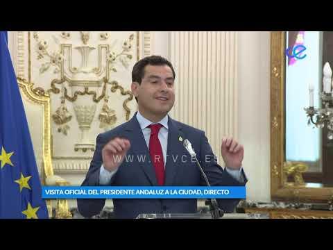 Moreno quiere que Ceuta forme parte del plan que convierta al en el gran centro logístico