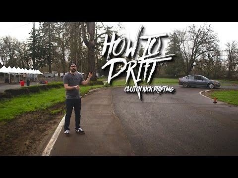 How to Drift - Clutch kick drifting (pt2)