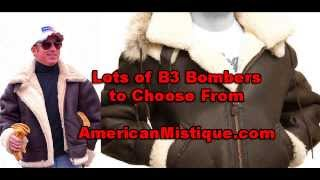 b3 bomber jackets and flight jackets from american mystique