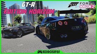 GT-R ÉDITION HORIZON + REGALIA FFXV - FORZA HORIZON 3