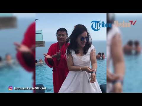 Hotman Paris Joget Bareng Asisten Pribadinya Di Omnia Bali
