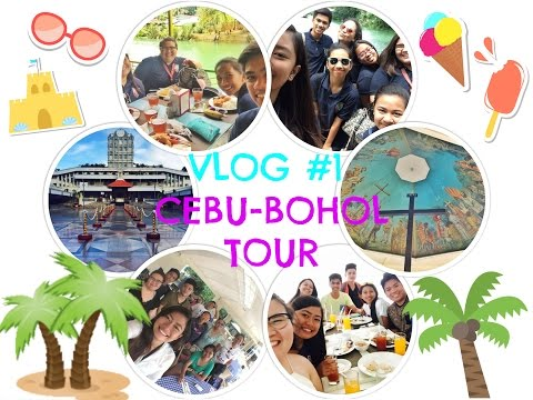 VLOG #1 : CEBU-BOHOL TOUR (October 2-5, 2016) 💛🌊🌴🌅