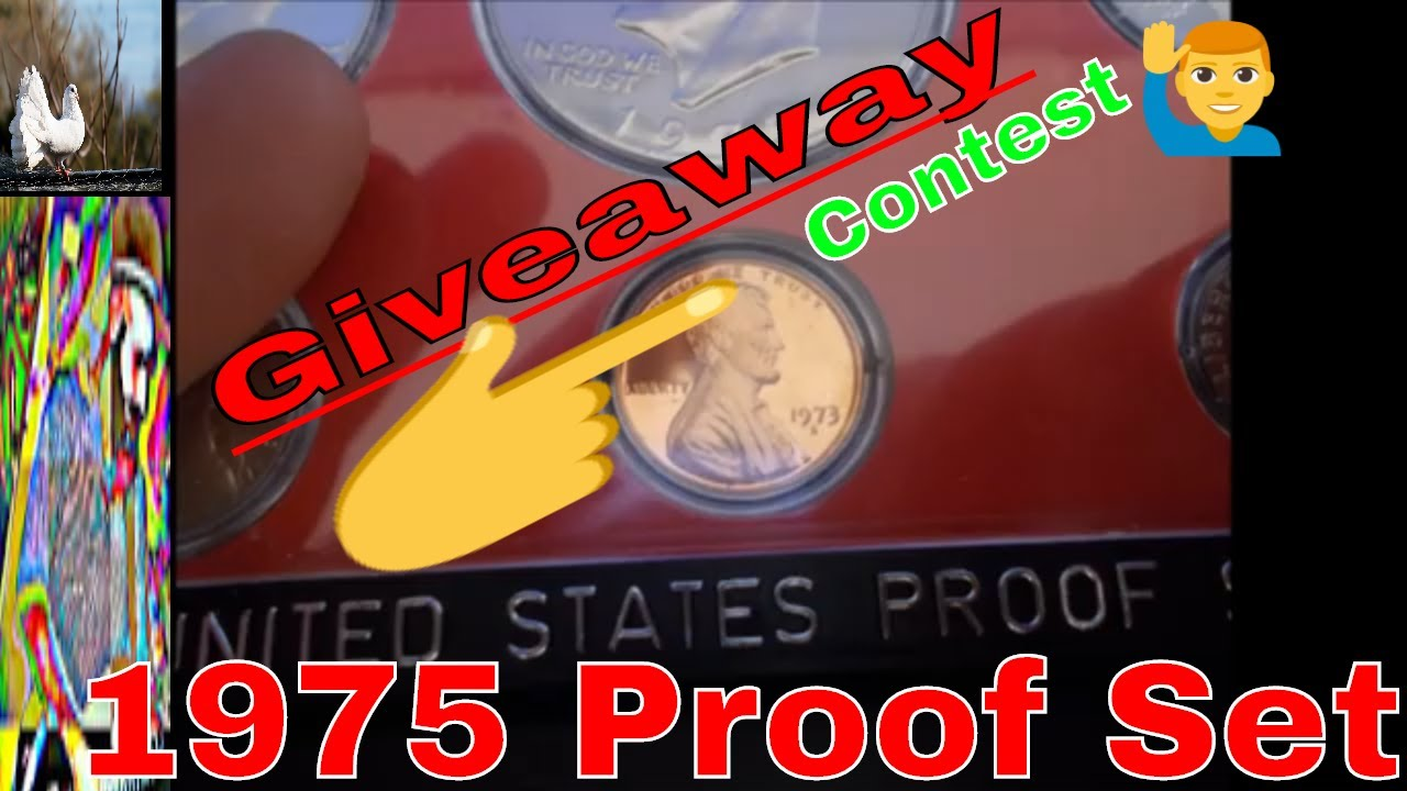 7 Hours Left to Enter Contest!!   1975 PROOF SET GIVEAWAY!!