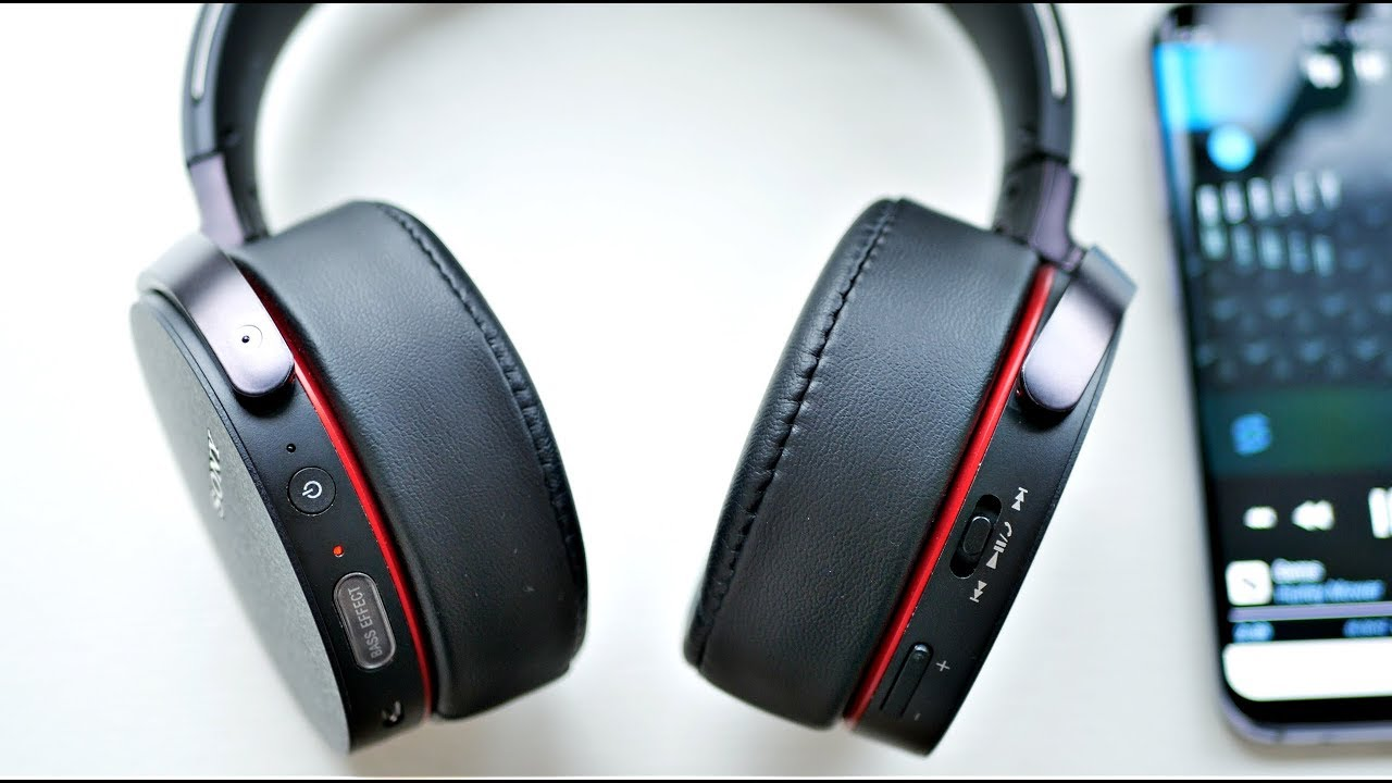 Sony Mdr Xb950b1 2017 Model Headphones Review A Ton Of Bass