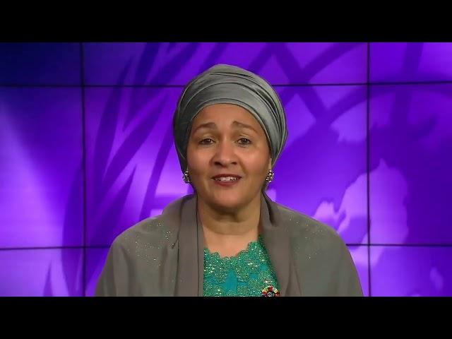 Amina Mohammed, Deputy Secretary-General, United Nations