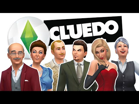 The Sims 4 Cluedo Challenge | Part 2 | ROLL THE DICE