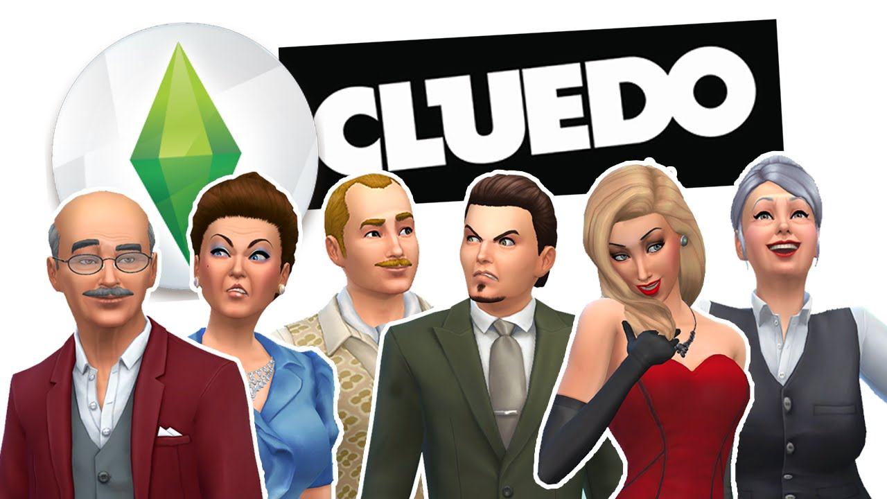 the sims 4 cluedo challenge part 2 roll the dice youtube