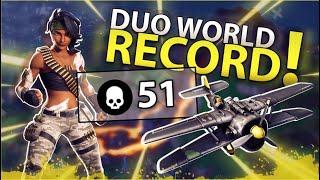 WORLD RECORD AIR ROYAL 51 KILLS DUO FORTNITE