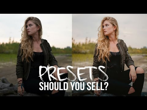 Should You Sell LIGHROOM Presets? + FREE PRESET