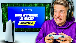 MI FINGO UN HACKER CON LA PS5 e TROLLO I MIEI AMICI!! *Scherzo* Playstation 5 Fortnite