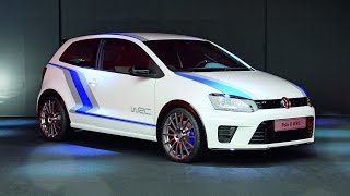 Тест-драйв VolksWagen Polo R WRC | Volkswagen Polo R WRC Test-Drive