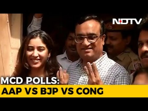 Low Turnout As Delhi Votes For Civic Bodies