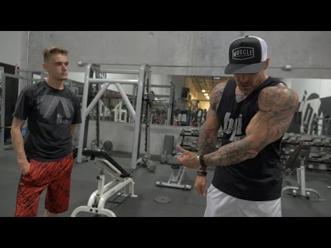 First Week in the Gym Ever!  | Muscle Mass Transformation | GAMES 2 GAINZ Ep. 3