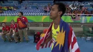 Athletics | men's 100m - t36 final  | rio 2016 paralympic games