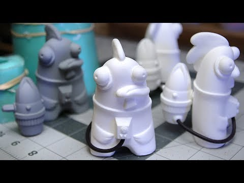 Mold Making And Resin Casting - How I Make Plastic Copies Of My Toys