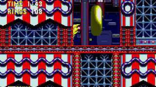 Sonic 3 & Knuckles - Carnival Night Zone (Sonic)