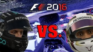 F1 2016 - ROSBERG VS. HAMILTON | CRASH COMPILATION